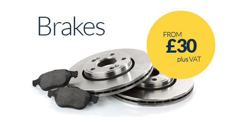 Brake Replacements from £30 plus VAT