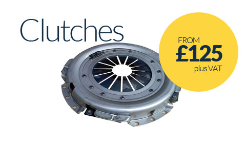 Clutch Replacements from £125 plus VAT