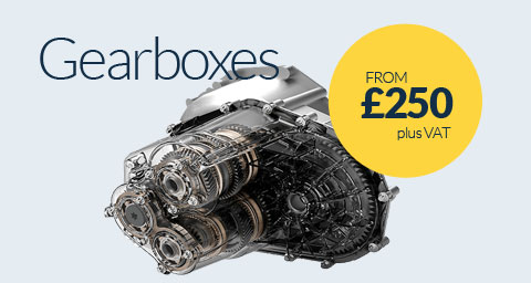 Gearbox Replacements from £250 plus VAT